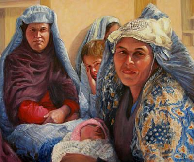 Women Of War Art Print by Donelli  DiMaria
