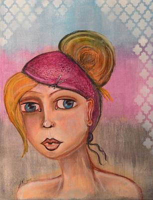 Women Series 1 Original by Lindy Powell
