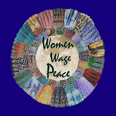 Mixed Media - Women Wage Peace by Michele Avanti