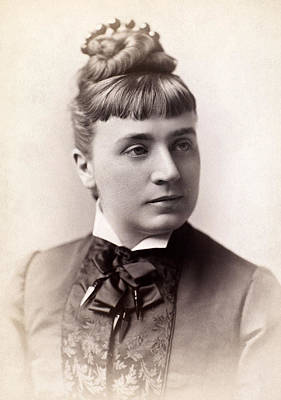 1880s Photograph - Womens Hairstyle, 1880s by Granger
