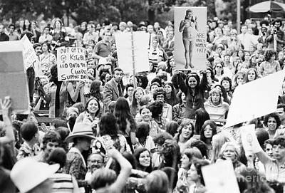 Photograph - Womens Lib, 1971 by Granger