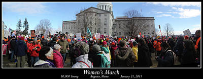 Photograph - Women's March 2017 by John Meader