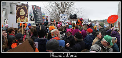 Photograph - Women's March by John Meader