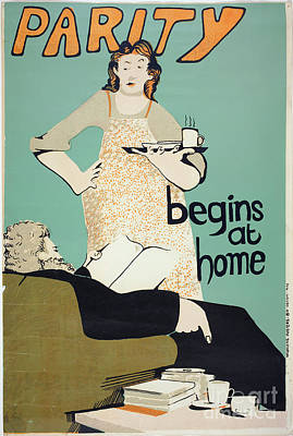 Painting - Women's Rights Poster by Granger