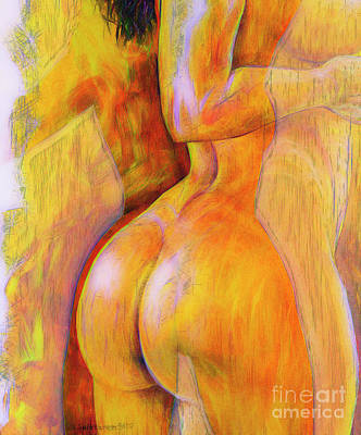 Nudes Royalty-Free and Rights-Managed Images - Womens Shapes 4 by Veikko Suikkanen