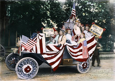 Photograph - Womens Suffrage, 1920 by Granger