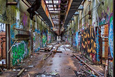 Photograph - Wompatuck Hallway 2 by Brian MacLean