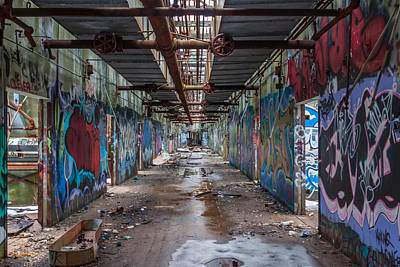 Photograph - Wompatuck Hallway by Brian MacLean