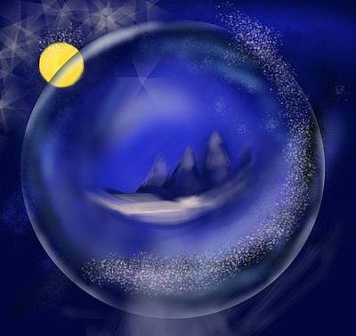 Painting - Wonder Ball by Christine Fournier