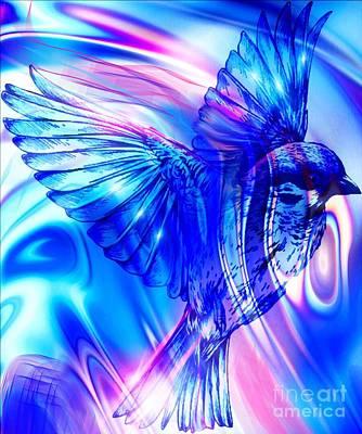 Digital Art - Wonder Bird by Gayle Price Thomas
