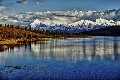 Wonder Lake IIi Art Print by Rick Berk