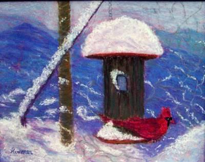 Wonder Of Winter Print by Sandy Hemmer