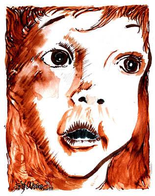 Sethweaver Drawing - Wonder by Seth Weaver