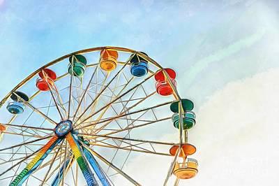 Painting - Wonder Wheel by Edward Fielding