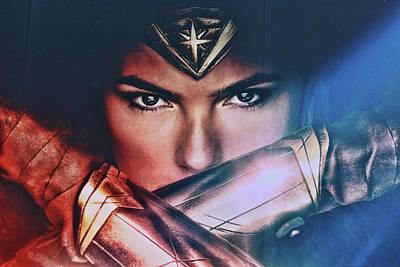 Photograph - Wonder Woman by Allen Beatty