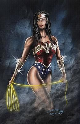 Wonder Woman Art Print by Darren Jolly