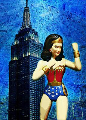 Photograph - Wonder Woman Defender Of Freedom II by Aurelio Zucco