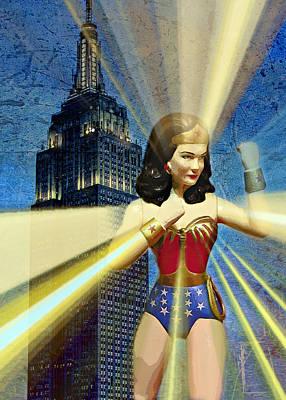 Photograph - Wonder Woman Defender Of Freedom IIi by Aurelio Zucco