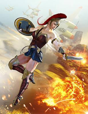 Wonder Woman Lightining Original