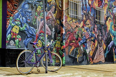 Super Hero Photograph - Wonder Woman's Bike by Nikolyn McDonald