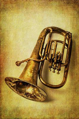 Photograph - Wonderful Rustic Tuba by Garry Gay