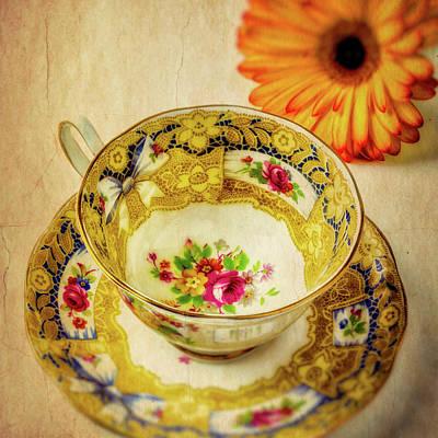 Photograph - Wonderful Tea Cup by Garry Gay