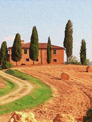Painting - Wonderful Tuscany, Italy - 02 by Andrea Mazzocchetti