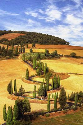 Painting - Wonderful Tuscany, Italy - 05  by Andrea Mazzocchetti