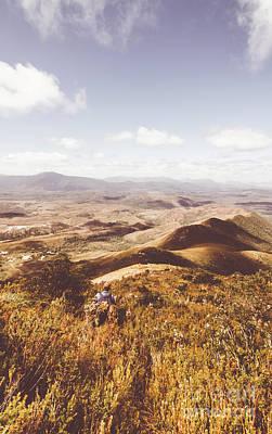 Hiking Wall Art - Photograph - Wonderful West Coast Tasmania Views by Jorgo Photography - Wall Art Gallery