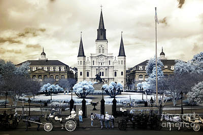 Photograph - Wonderful World Of New Orleans Infrared by John Rizzuto