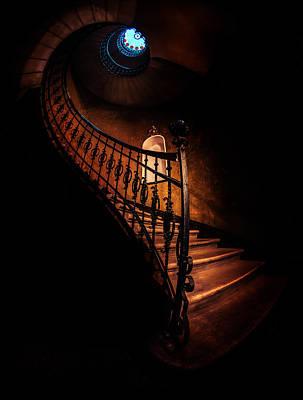 Photograph - Wonderful World Of Spiral Stairs by Jaroslaw Blaminsky