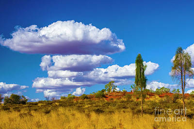 Photograph - Wonderfull Clouds by Rick Bragan