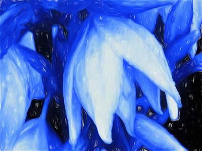Lilies Mixed Media - Wonderfully Amazing Grace by Debra Lynch