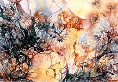 Moonshadow Painting - Wonderland By Night by Estelle Hartley