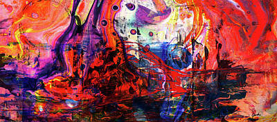 Painting - Wonderland - Colorful Abstract Art Painting by Modern Art Prints