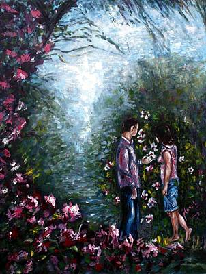 Wonderland Art Print by Harsh Malik
