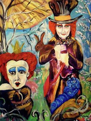 Wonderland Art Print by Made by Marley