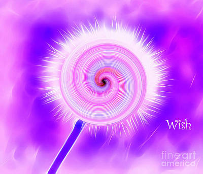 Digital Art - Wonderland Of Wishes by Krissy Katsimbras