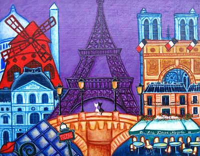 Louvre Painting - Wonders Of Paris by Lisa  Lorenz