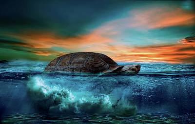 Wonders Of The Sea Art Print by Ivan Tamas