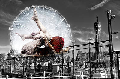 Photograph - Wonders On The Wonder Wheel by John Rizzuto
