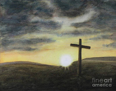 Mixed Media - Wondrous Cross by Jennifer Watson