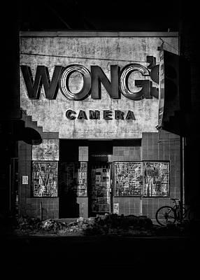 Photograph - Wong's Camera by Brian Carson