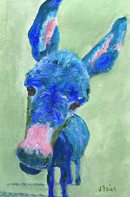 Painting - Wonkey Donkey by Jamie Frier
