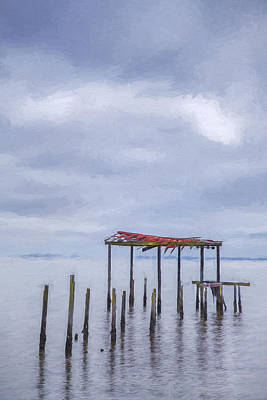 Digital Art - Won't Let Go II by Jon Glaser