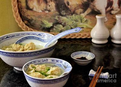 Photograph - Wonton Soup by Katy Mei