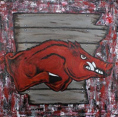 Woo Pig Art Print