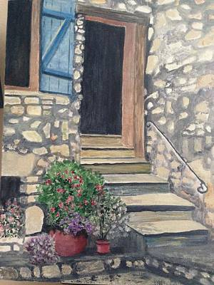 Painting - Wood And Stone by Heidi Patricio-Nadon