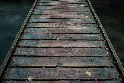 Photograph - Wood And Water II by Helen Northcott