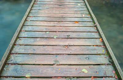 Thomas Kinkade - Wood and Water iii by Helen Northcott